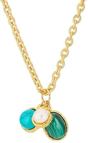 8525f8174 ... Pendant Necklace - Gold. More Details · Zales. @zalesjewelers. 5w. 1. Child's  Disney Twinkle Ariel Button and Round Cultured Freshwater Pearl ...