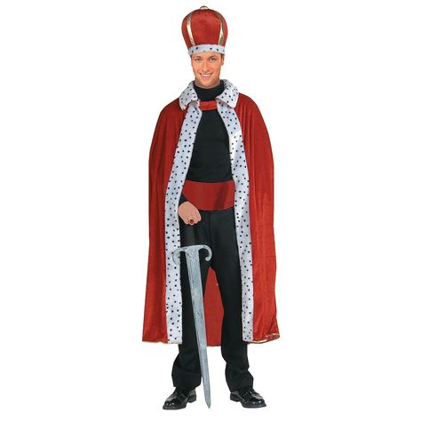King Robe & Crown Adult Men's Costume, $16.00
