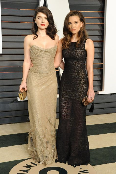 Pin for Later: See Which Stars Let Their Hair Down at Vanity Fair's Oscars Afterparty! Eve and Jordan Hewson