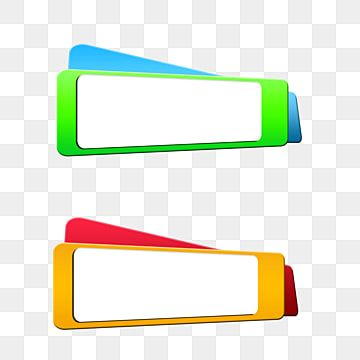 Multicolor Text Box Text Box Five Color Multicolor Vector Png Transparent Clipart Image And Psd File For Free Download Banner Vector Psd Free Photoshop Text Icons