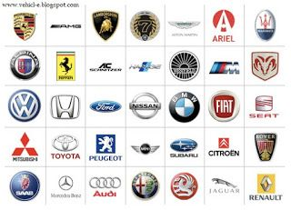Vehicle Information Service World Expensive Vehicle Car Brands Logos Car Logos Car Brands