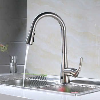 Flow Motion Activated Pull Down Kitchen Faucet Kitchen Faucets