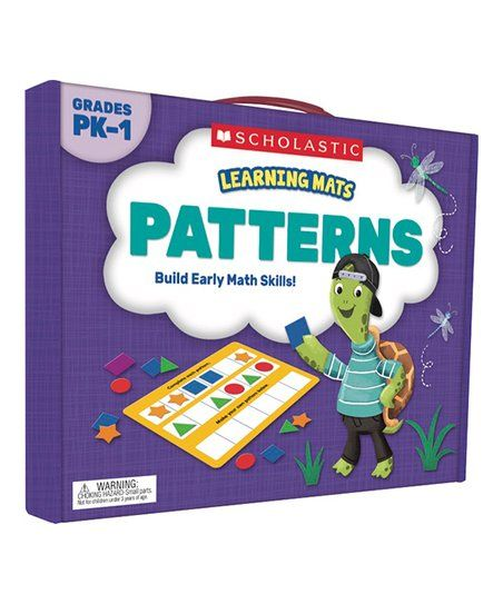 Scholastic Teaching Resources Learning Mats Patterns Set Zulily