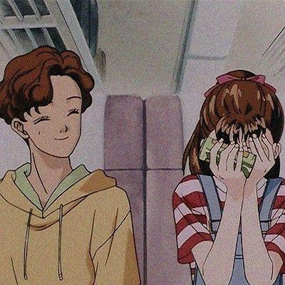 Couple Profile Picture Aesthetic Anime Couple Wallpaper