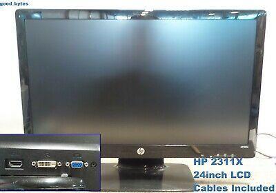 Hp 2311x 23 Monitor With 1 Hdmi 1 Vga Input Works In 2020 Monitor Hdmi Vga