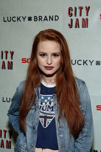 Madelaine Petsch attends as Lucky Brand Presents - Lucky Lounge: City Jam with Brandy at Freehand Chicago.