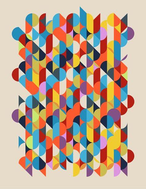 Geometric art by Matt Luckhurst