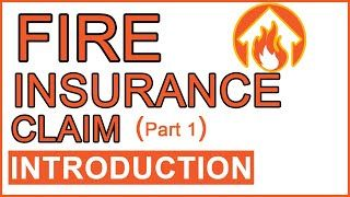 Fire Insurance Introduction In 2020 Introduction Understanding