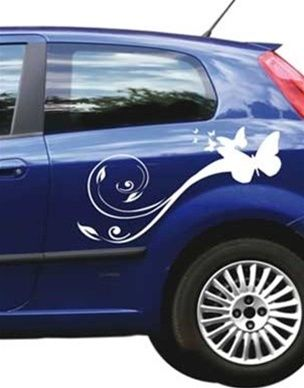 Car Decals Butterflies Car Decal Butterfly And Cars - Vinyl transfers for cars