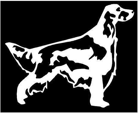 WHITE Vinyl Decal Newfoundland dog puppy euro fun sticker truck