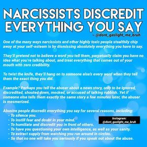 "The Narcissist Science on Instagram: ""Deflection"