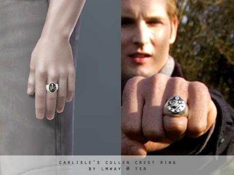 lmway's The Twilight Saga - Carlisle's Cullen Crest Ring<<I WANT IT SO BAD UGH