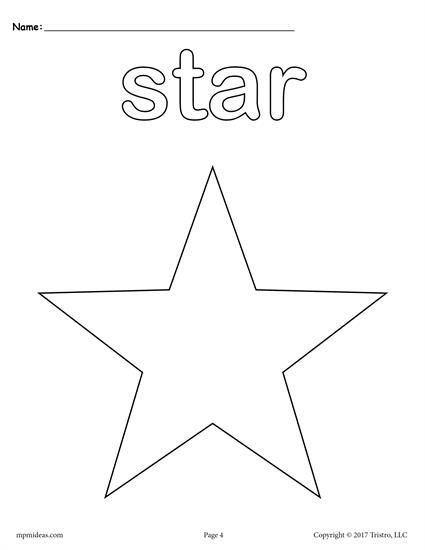 Free Preschool Shapes Coloring Pages Includes A Star Coloring Page Plus 11 Other Shapes Coloring She Shape Coloring Pages Star Coloring Pages Color Worksheets