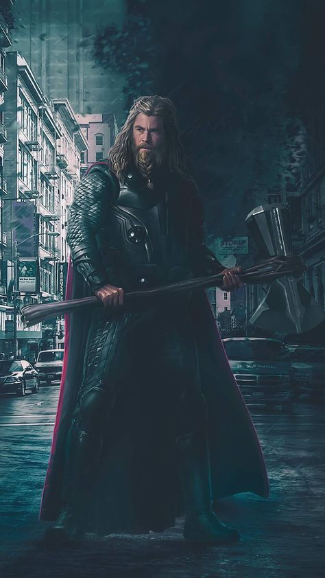 Thor Stormbreaker iPhone Wallpaper - iPhone Wallpapers