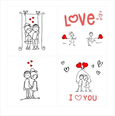 Exploding, confetti card: Loving couple