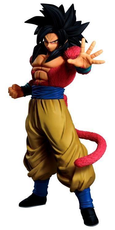 Bandai Masterlise Emoving Dragon Ball Gt Super Saiyan 4 Son Goku Figure In 2021 Super Saiyan 4 Goku Goku Dragon Ball