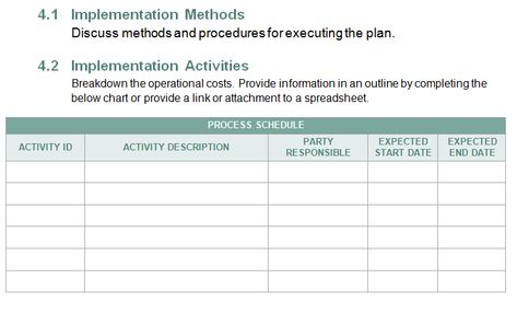Download Organizational Change Management Plan Template for - management plan template