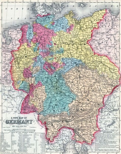 Germany Map See More At Httpwwweverythingaboutgermany - Germany map hd