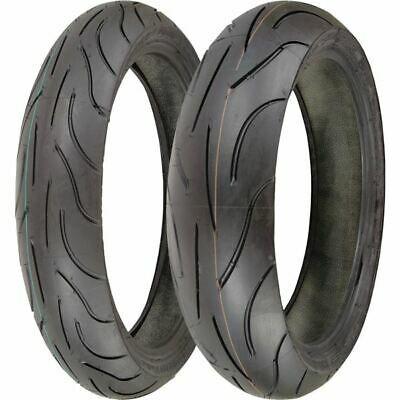 120 70 17 180 55 17 Michelin Pilot Power Tire Kit Ebay In 2020 Motorcycle Tires Tire Michelin