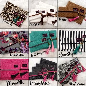 Makeup Junkie Bags (Several sizes \u0026 prints!)