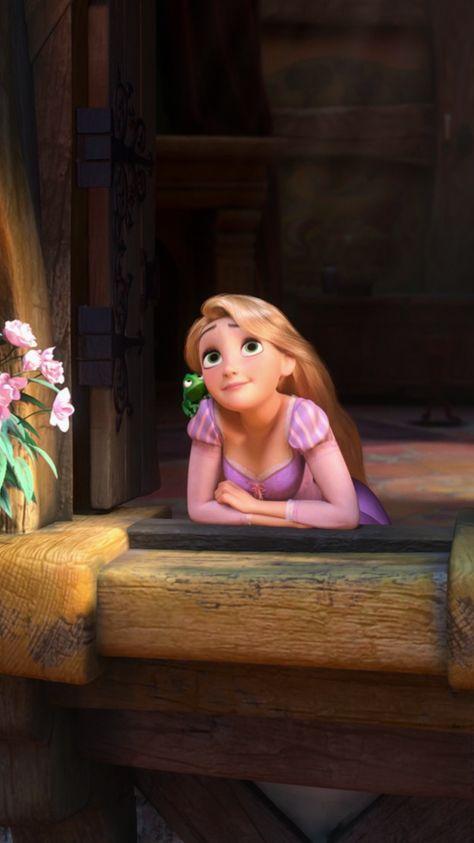 partylocks — Rapunzel (Tangled) Disney Lockscreens (iPhone...