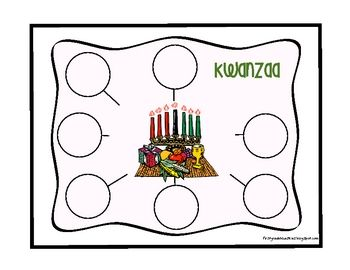 Freebie thinking map for kwanzaa - Re-pinned by @PediaStaff – Please Visit http://ht.ly/63sNt for all our pediatric therapy pins