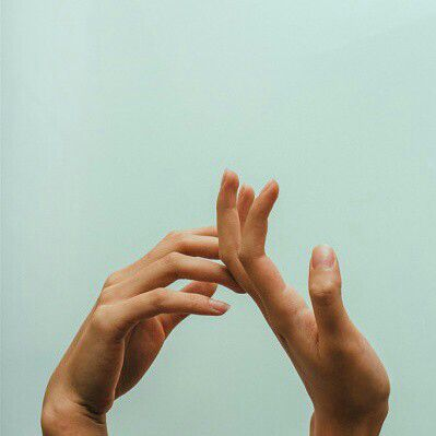 Hands Drifting Apart