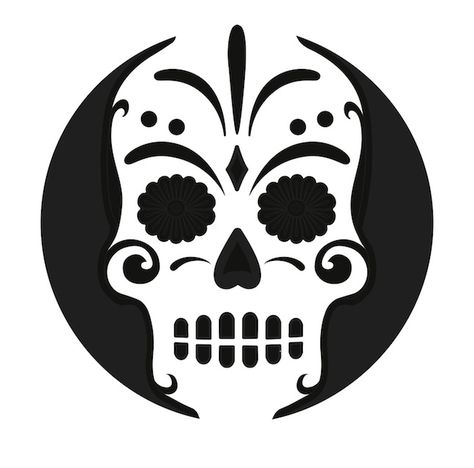 Sugar skull pumpkin carving stencil free pdf pattern to download sugar skull pumpkin carving stencil free pdf pattern to download and print at httppumpkinstencilsdownloadsugar skull pumpkin stencil pinterest pronofoot35fo Images