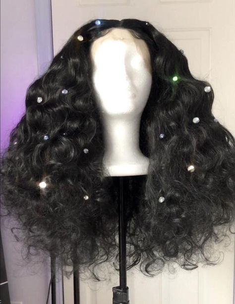 ⭐️VIP EXCLUSIVE Donna Summer Studio 54 disco era synthetic lace front wig with a realistic hairline. Beautiful volume and movement for stage performances. Perfect for drag, burlesque and theatre performances! Wig Styles, Curly Hair Styles, Natural Hair Styles, Big Curly Hair, Baddie Hairstyles, Pretty Hairstyles, Disco Hairstyles, 2015 Hairstyles, Casual Hairstyles