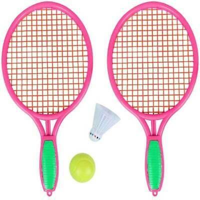 Outdoor Sports Tennis Rackets Badminton Rackets Kids Toy Child Racquet + 2  Balls in 2020 | Sport tennis, Tennis racket, Badminton racket