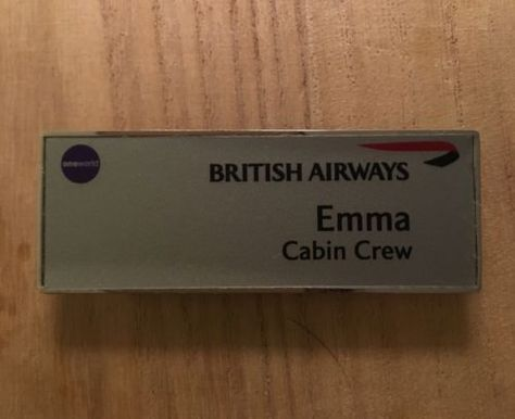 British airways #cabin crew\/flight #attendant lapel #badge, View - british airways flight attendant sample resume
