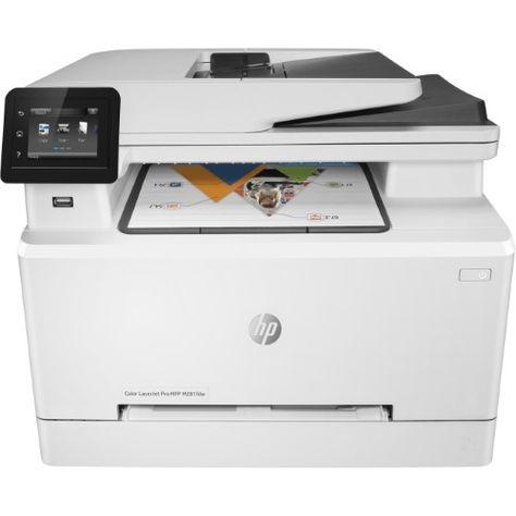 Hp Color Laserjet Pro Mfp M281fdw Print Copy Scan Fax Wireless T6b82a Multifunction Printer Laser Printer Wireless Printer