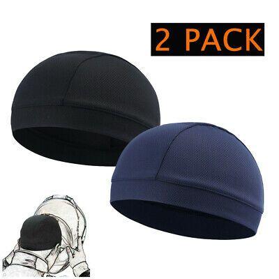 Sponsored Ebay Sweat Wicking Helmet Liner Cooling Skull Cap For