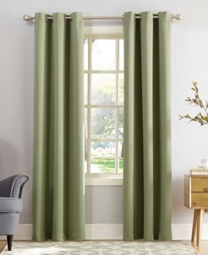 Sun Zero Preston 40 X 108 Blackout Grommet Curtain Panel