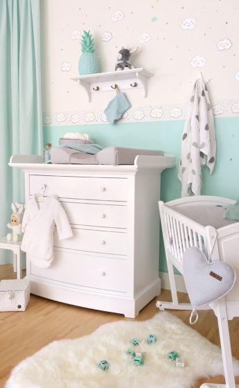 bordüren für babyzimmer inspirierende pic der bacfabdbebd baby zimmer balloon