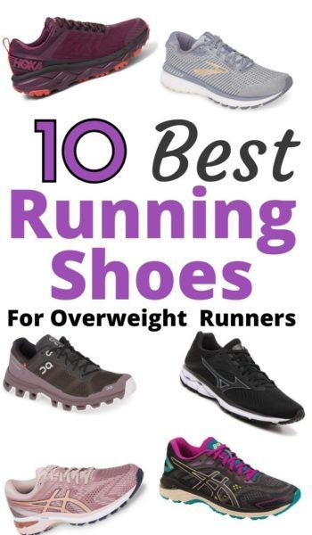 5 Best Running Shoes For Overweight