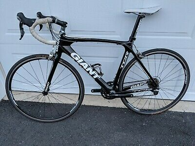 Sponsored Ebay Giant Tcr Comp Carbon Road Bike With Shimano 105