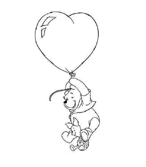 Disegni Di San Valentino Per Bambini Orsetto Con I Cuori