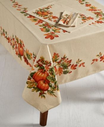 Closeout Bardwilharvest 60 X 120 Tablecloth In 2019 Table