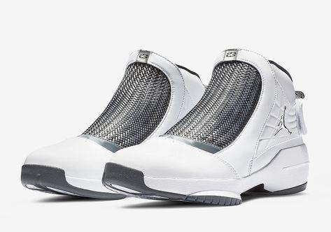 Air Jordan 19 Flint Grey 2019 AQ9213 100 Release Date SBD