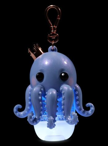 Royal Octopus Light Up Pocketbac Holder Hand Sanitizer Holder