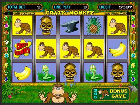 Znalezione obrazy dla zapytania: Crazy Monkey в казино Вулкан