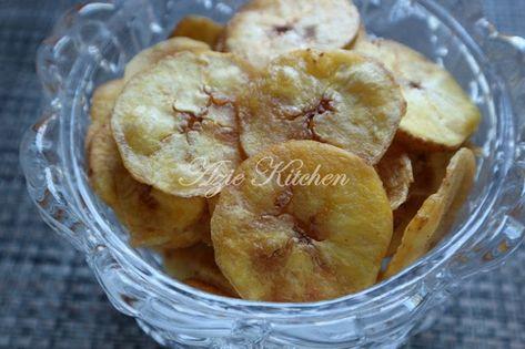 Kerepek Pisang Tanduk Snack Recipes Snacks Food