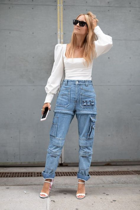 Not your average baggy jeans. #fashionweek #fashion #fashionista #trends #fw19