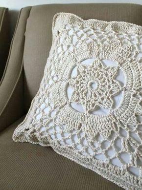 cojines tejidos a crochet   Cojines de ganchillo, Crochet