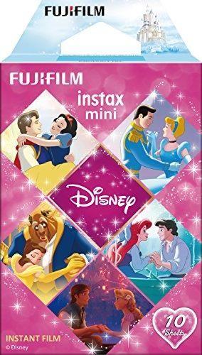 Fujifilm Instax Mini Disney Princess Film - 10 Exposures (Short Dated - Expires 2021) - Pink