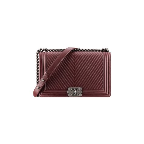 Boy CHANEL flap bag ❤ liked on Polyvore featuring bags, handbags, chanel, tasker, red handbags, chanel handbags, stitch bag and chanel bags