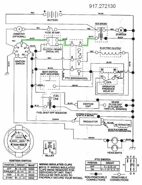 Craftsman Riding Mower Wiring Schematic 1004 In 2020 Craftsman Riding Lawn Mower Riding Mower Lawn Mower Repair