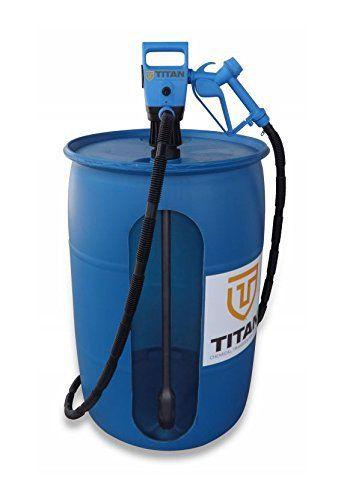 Titan 902 031 1 Def Electric Drum Pump Rechargeable 19 2v Professional Barrel Pump Electric Drum Pum 55 Gallon Plastic Drum Electric Water Pump Plastic Drums