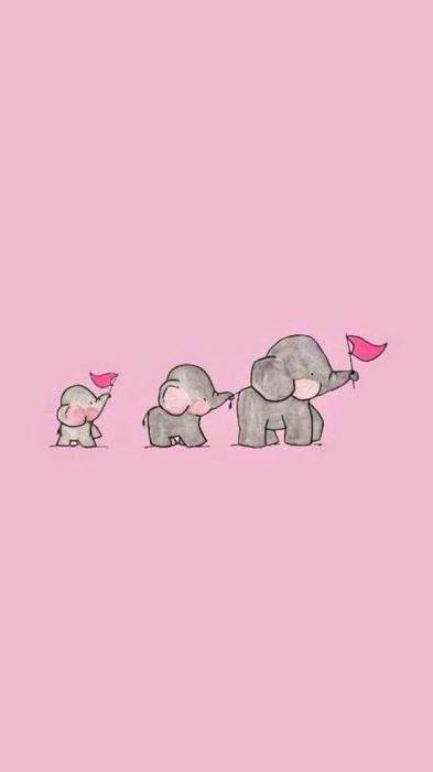 Fondos De Pantalla Para Celular Pink Wallpaper Android Elephant Wallpaper Pink Wallpaper Iphone Cool elephant wallpaper for iphone